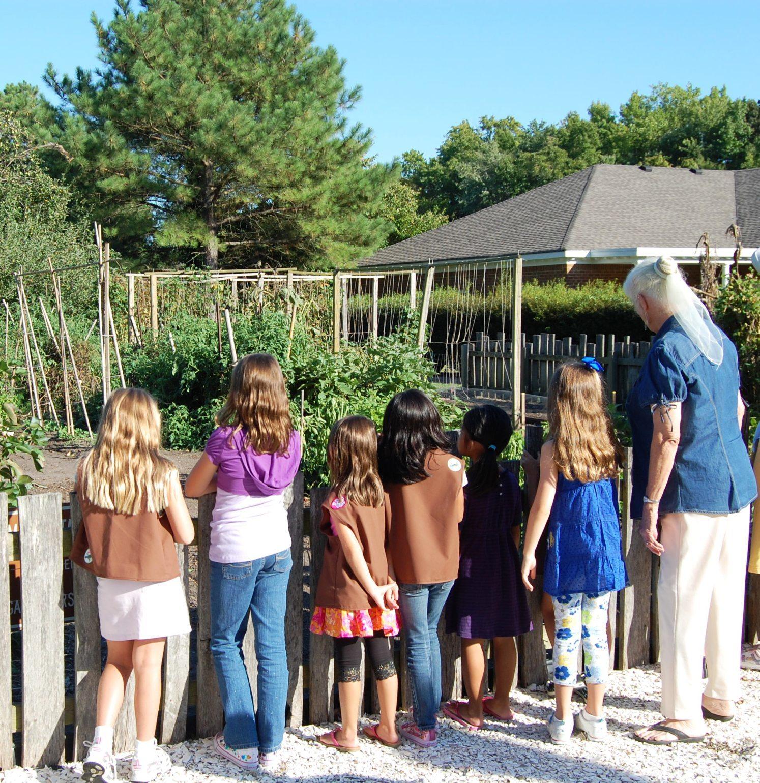Girl Scout History Explorer Day: Gardening
