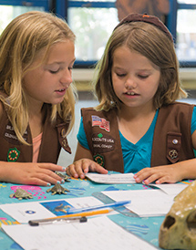 Join us as we celebrate the magnificent sea turtle! Scouts will explore the adaptations of this unique animal, discover the challenges sea turtles must overcome, and satisfy all the requirements need to obtain the Explore Sea Turtle patch.Pricing includes access to activities scheduled during rank-specific workshop sessions, aquarium admission, and the Explore Sea Turtle patch.Rank-Specific Work Shop SessionsDaisies   - Saturday, May 22, 2021   - Workshop: 9-10am   - Aquarium admission time 10:30amBrownies (choose one session)   - Saturday, May 22, 2021   - Session 1      - 11am-12pm      - Aquarium admission time: 12:30pm   -Session 2      - 12:30pm-1:30pm      - Aquarium admission time: 2pmJuniors   - Sunday May 23, 2021   - Workshop: 9am-10:30am   - Aquarium admission time: 11amCadettes, Seniors, and Ambassadors*   - Sunday, May 23, 2021   - Workshop: 11am-12:30pm   - Aquarium admission time: 1pm*Cadettes, Seniors, and Ambassadors will also complete Step 2: Investigate and Step 4: Experience of the Nation's Capital Endangered Species Patch ProgramAdvanced registration and payment are required in order to secure workshop participation. Please note that scouts must be accompanied by a paying adults and each workshop have a maximum of 15 scout participants. Face coverings must be worn during workshops and in exhibit areas. For additional information, please call (757) 385-0339 or email DVWright@virginiaaquarium.com.